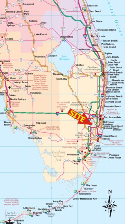Map Of Miramar Florida.Miramar Florida Map Bnhspine Com